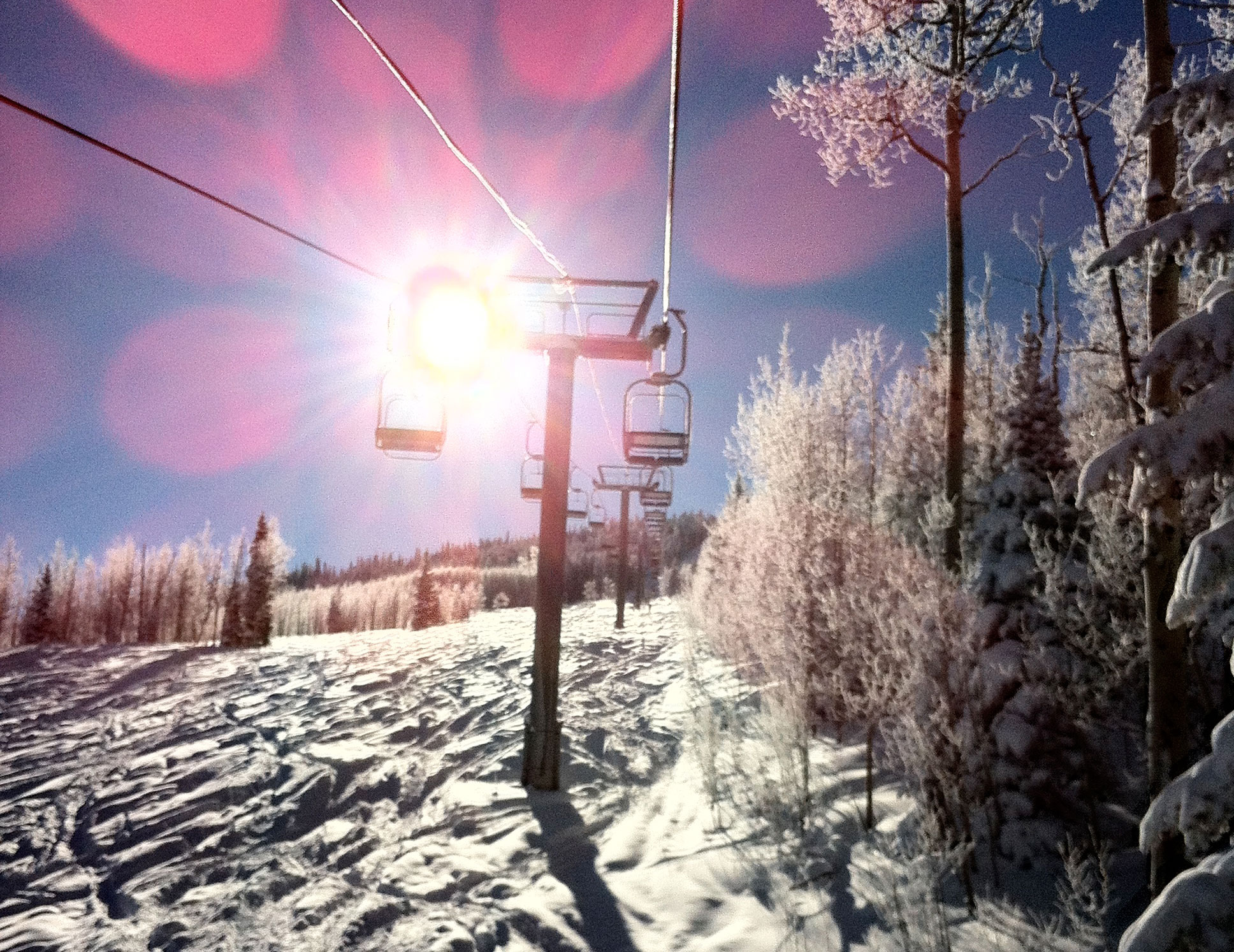 Sunny Chairlift